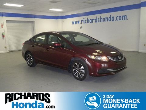 Certified Used Honda Civic EX