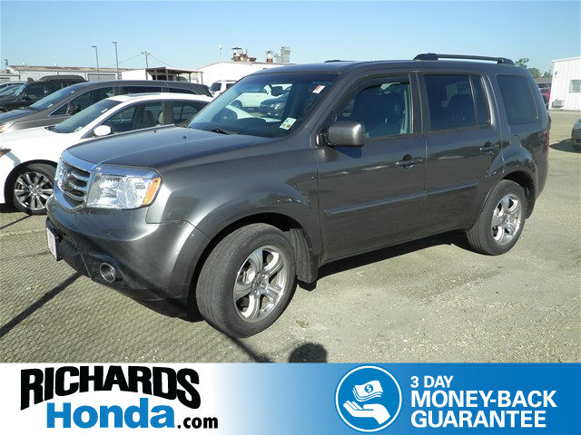 Certified Used Honda Pilot EX-L with DVD Rear Entertainment