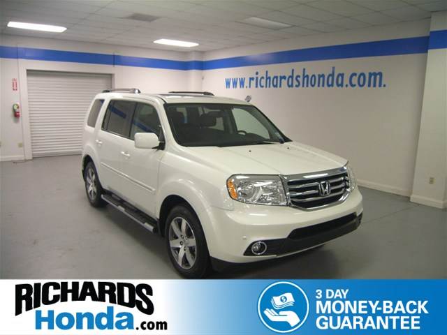 Certified pre owned 2014 honda pilot touring suv in baton for Certified pre owned honda pilot 2016
