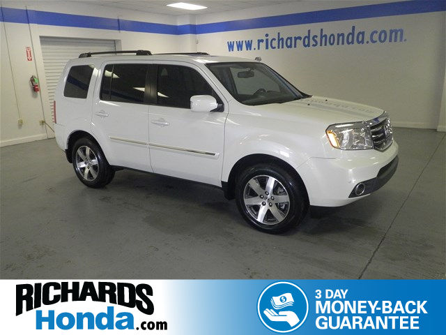 Certified Used Honda Pilot Touring w/RES/Navi